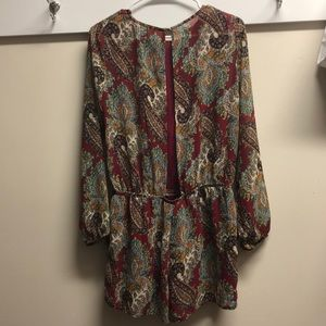 Lucca Couture Paisley Romper